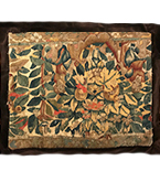 17th C. Brussels Tapestry Pillowcase