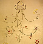 Needlework on Linen
