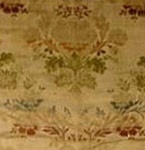 18th Century French Silk Runner Textile