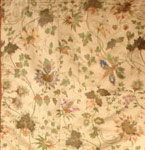 18th Century French Silk Brocade Textile