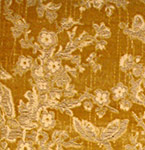 17 C. Italian Velvet Metallic threads
